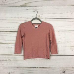 Zara Knitwear NWT Blush Pink V-Neck Sweater
